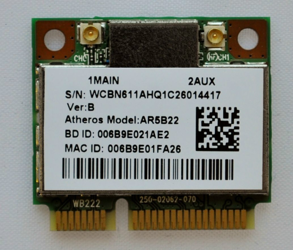 2.4G / 5G AR5B22 300M dual-band network card +4.0 Bluetooth combo module killer1202 USB Wifi