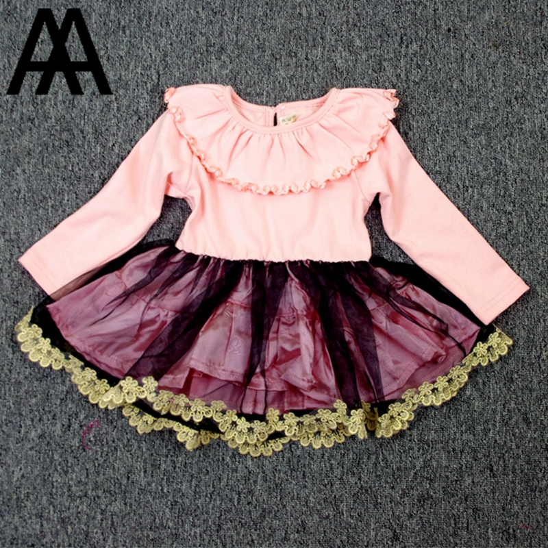 Top Quality 6M-6T Baby Girl Bodie Kids Dress Dress.Clothings Infant Toddler Cotton Candy A Line Layered Mantle Spring Autumn