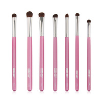 Horse Hair Makeup Brushes 7 Pcs Eye Shadow Make up Brushes Set  Foundation Profession Brush Beauty Makeup Cosmetic Tool
