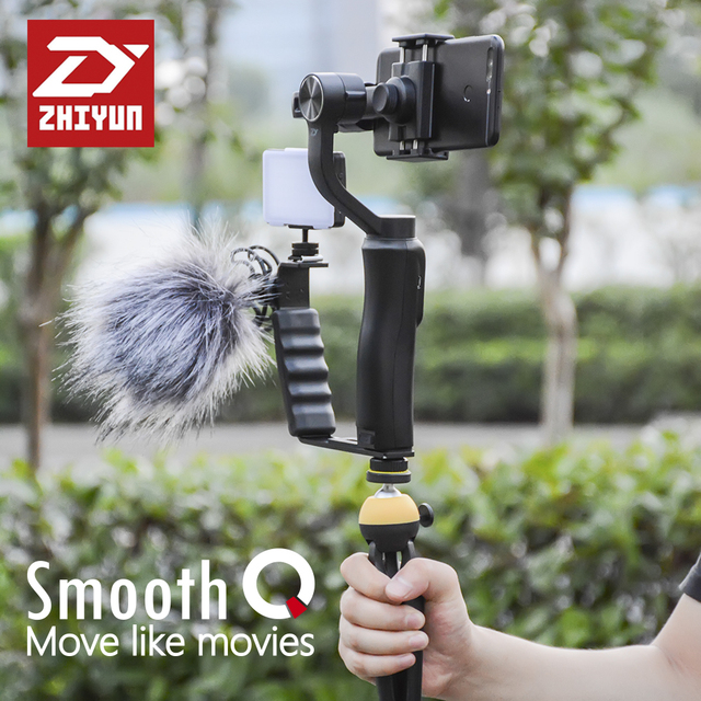 ZHIYUN Smooth Q Gopro action camera gimbal smartphone 3 Axis gimbal steadicam steadicam for iphone Sumsung Gopro 3 4 5
