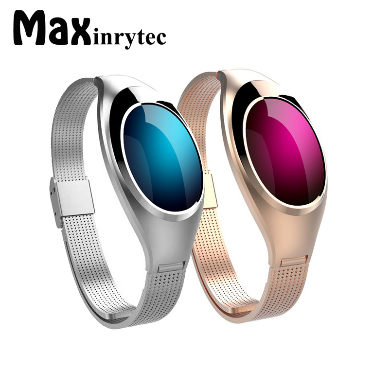 Women bracket Smart Watch Z18 with Blood Pressure Heart Rate Monitor Pedometer Fitness Tracker watches For Android IOS phone