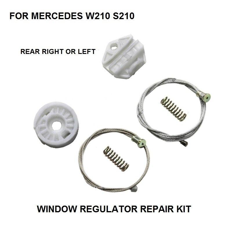 WINDOW KIT FOR MERCEDES W210 S210 ELECTRIC WINDOW REGULATOR REAR LEFT-RIGHT 1995-2003