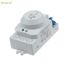 CARPRIE 220V 5.8GHz Microwave Movement Motion Detector Sensor Switch For Light L70307