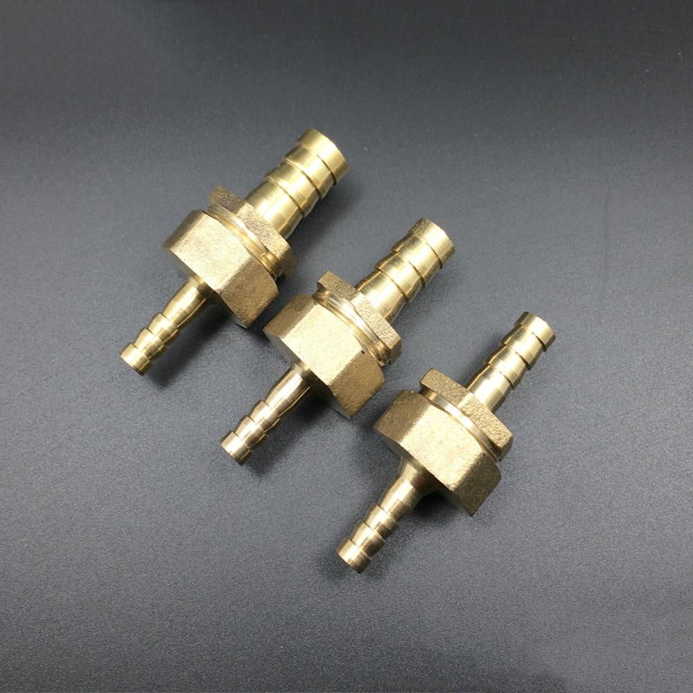 4/6/8/10/12/14/16/19/25 мм Соединительная муфта для шлангов из латуни, соединительная муфта с зубчатым хвостом|Фитинги для труб|   | АлиЭкспресс