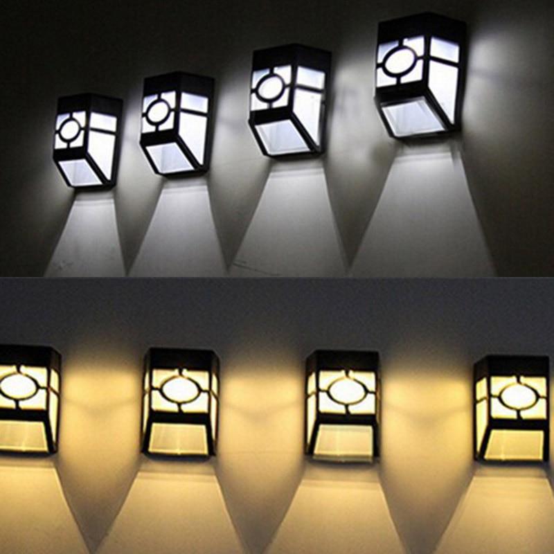 Lâmpadas Solares iluminação da parede do jardim Garantia : 1 Year