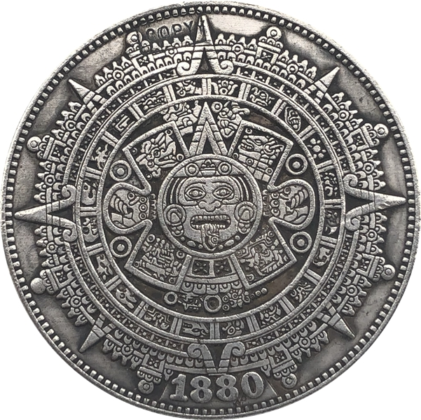 Hobo Nickel 1880-O USA Morgan Dollar COIN COPY Type 139