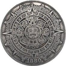 Hobo níquel 1880-O dólar Morgan de EUA copia de moneda tipo 139