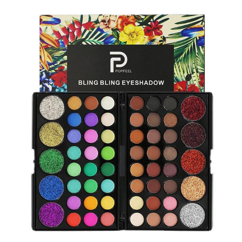 29 paleta de sombra de olho de cor glitter impermeável de longa duração compõem pressionado pigmento maquiagem profissional fosco sombra pallete