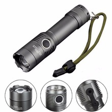 Tactical Police Heavy Duty 2000LM LED Rechargeable Flashlight 18650 / AAA Torch New #K4U3X#