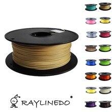 Wood Color 1Kilo/2.2Lb Quality PLA 1.75mm 3D Printer Filament 3D Printing Pen Materials