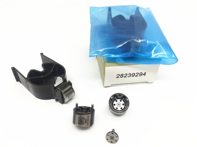 Pack of 4 EURO3 Diesel Common Rail Injector Valves 28239294 9308-621C 9308Z621C 28538389 Black for Ford Nissan Renault 1.5 dci
