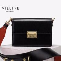 Vieline натуральная кожа женские щитка сумка, независимый дизайнер Ограниченная серия высокого качества кожа коровы Crossbody Сумки