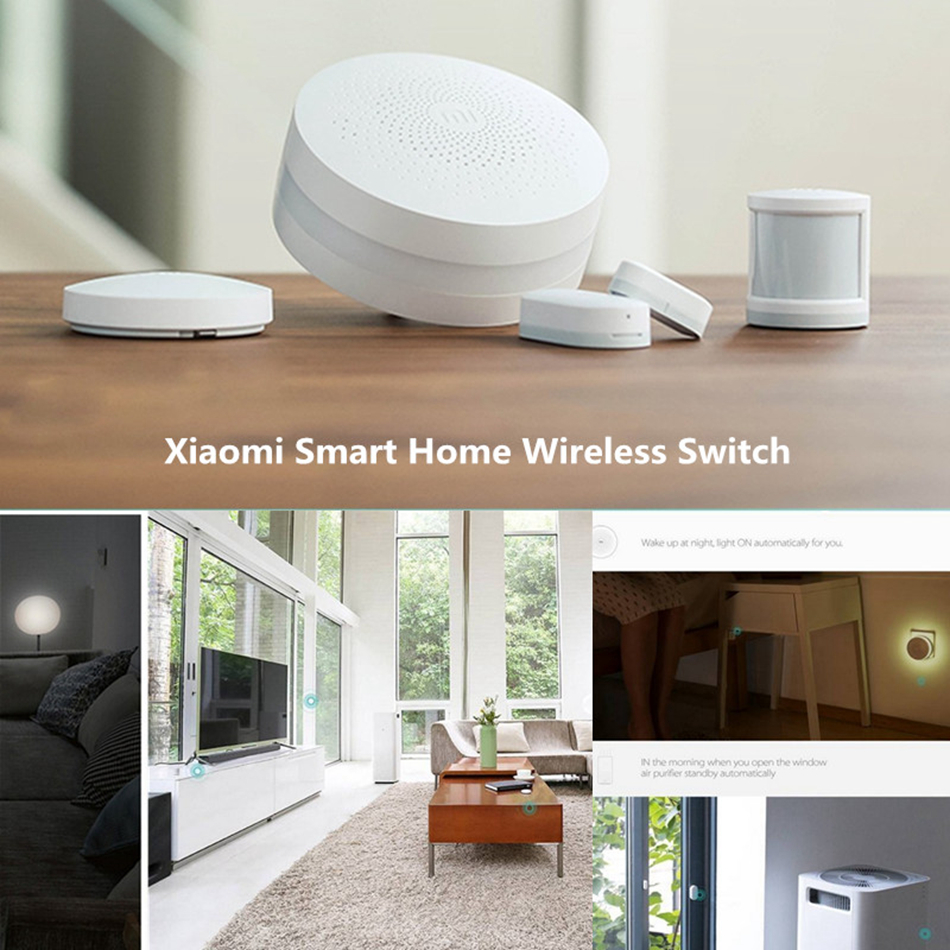 Xiaomi MIJIA Aqara Smart Wireless Switch for xiaomi Smart Home house Remote Control Center for Mijia Home APP Gateway Hub # (15)