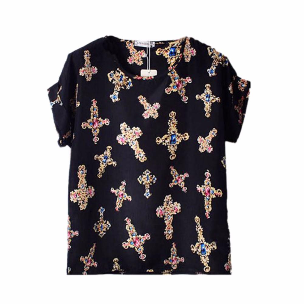 HTB1wb2uKpXXXXcOXVXXq6xXFXXXD - 2017 Summer Funny Birds Printing Womens Loose T-Shirt