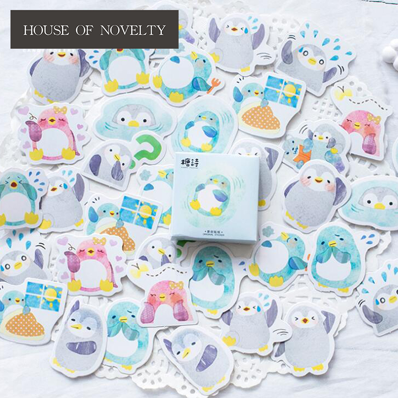 Lovely Penguin Decorative Stickers Adhesive Stickers DIY Decoration Diary Stickers Box Package alive for all the things are nice stickers adhesive stickers diy decoration stickers