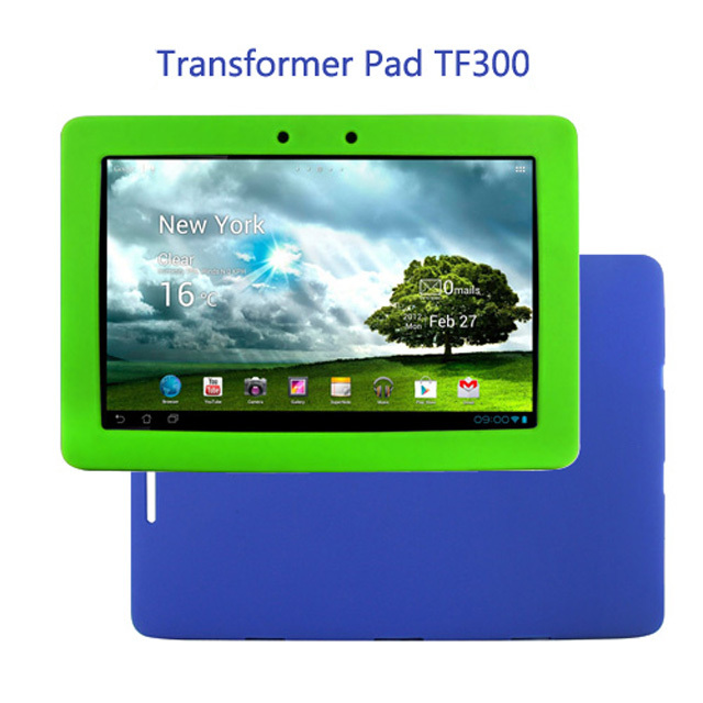 Original Ultra Slim Luxury Silicon Soft Cover Shell Rubber Smart Silicone Case For Asus Eee Pad Transformer Pad TF300TG TF300T for ipad mini4 cover high quality soft tpu rubber back case for ipad mini 4 silicone back cover semi transparent case shell skin