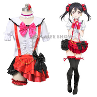 Customized Japanese Anime Love Live Yazawa Nico School Idol Project Cosplay Costume Dress Outfit