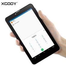 XGODY V7 7 pulgadas 3G Tablet PC Phone Call MTK MT8321 Quad Core 1.3 GHz 1 GB RAM 8 GB ROM WiFi OTG GPS FM 5.0MP Dual SIM GSM/WCDMA