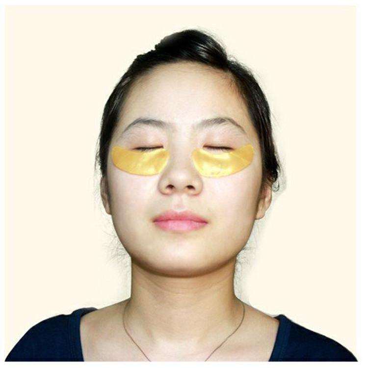 10Pairs Eye Mask Gold Crystal collagen Eye Masks Anti-Puffiness Dark Circles Anti Aging Moisturizing Eye Care 6