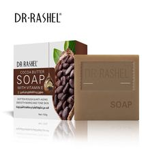 DR.RASHEL Cocoa Butter Face Soap with Vitamin E Softening Anti Aging Smoothing Facial Cleanser 100g недорого