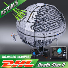 NEW LEPIN 05026 Star Wars UCS Death Star II The second generation 3449pcs Building Block Bricks Toys Compatible with legeo 10143