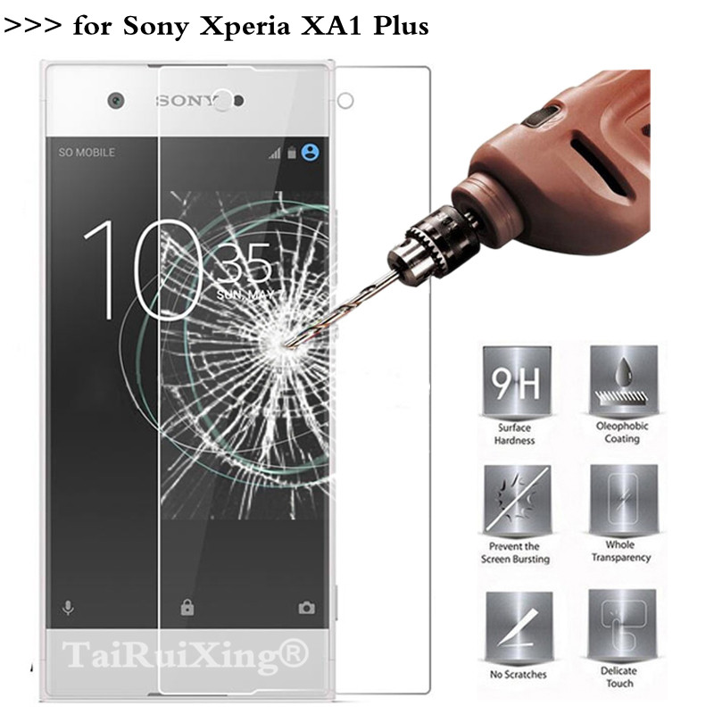 2.5D 0.26mm 9H Tempered Glass Screen Protector For <font><b>Sony</b></font> XA1 Plus G3412 G3421 G3423 <font><b>G3416</b></font> 5.5