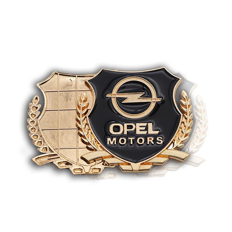 Купить 3d металлическая ультратонкая автомобильная наклейка для opel