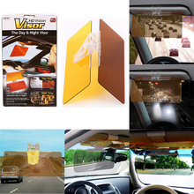 купить Universal HD Vision Sun Visor Rear View Mirror Day and Night Visor Safe Driving HD Vision Glasses Sun Visor Clip по цене 519.75 рублей