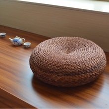 Natural Handmade Straw Meditation Cushion Futon Tatami Thickening Piaochuang Free Shipping