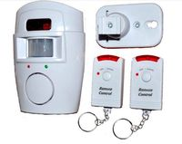 Freeshipping Wireless IR Infrared Motion Sensor Detector Alarm Remote Home Security System With 2 Remote Control