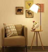 Simple living room American bedroom fishing floor lamp