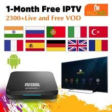 KM9 Pro TV Box India Turchia IPTV Ex Yu Arabo Pakistan Abbonamento IPTV Germania Francia 1 Mese IPTV di Trasporto india Arabo IP TV UK