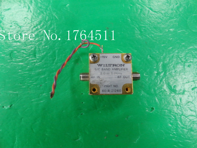 [BELLA] WILTRON 60-B-21260 2.0-8.0GHZ +15V 2.92mm RF Amplifier