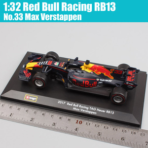 Image 3 - 1:32 BBurago Red Bull Racing RB13 No.3 Daniel No.33 racer Diecasts & Toy Vehicles miniature model scale cars kids