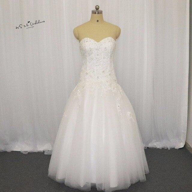 Vestidos de Noiva Plus Größe Brillant Vintage Hochzeit Kleid 2017 ...