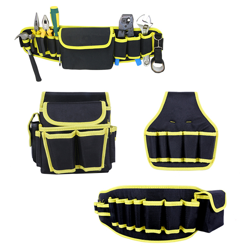 A Variety Of Styles Oxford Cloth Electrical Tools Storage Package Wear Waterproof Electric Drill Bag Belt