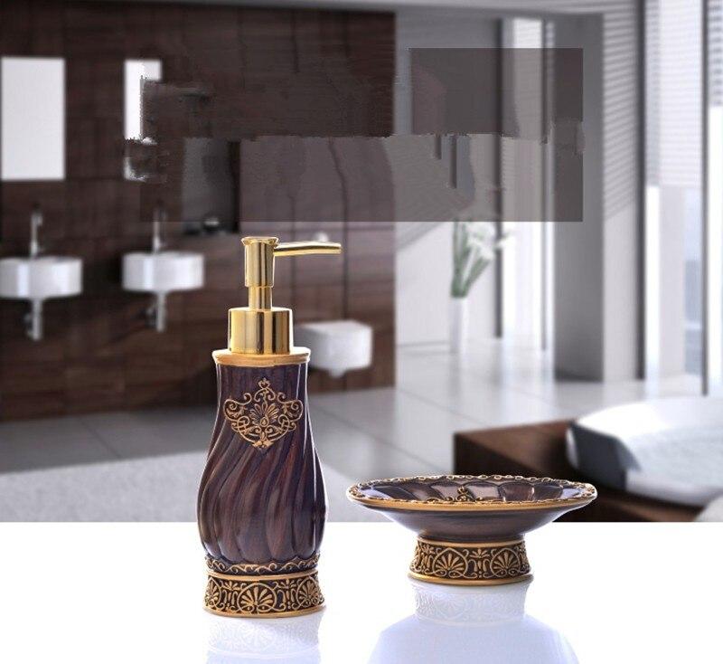 ensemble accessoires salle de bain vintage syla eBay