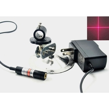 цена на 12mmx55mm Focusable Cross Beam 635nm 5mW Orange Red Laser Locator Module w K9 Lens & Mitsubishi Diode