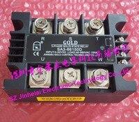 New and original SA366150D SA3-66150D GOLD  3-PHASE Solid state relay   SSR  4-32VDC 40-660VAC 150A