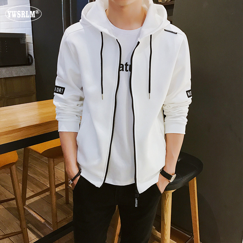 YWSRLM New men's sportswear autumn winter Zip card hoodies Sweatshirts casual men clothes 2018 track suit jogging homme size 4XL 15