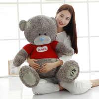 1PC Teddy Bear Plush Toys Sweater Bear 40/60CM Soft Stuffed Animals Cute Patch Bear Plush Dolls For Baby Kids Christmas Gifts