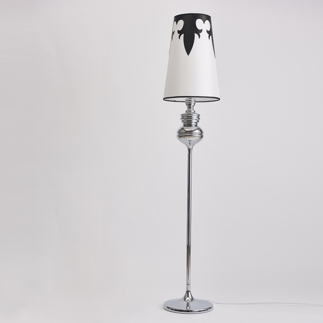 Standing Lamps For Living Room Floor Lamp Kids Long Floor Stand Lamp Chrome  Cloth Fabric Loft Part 54