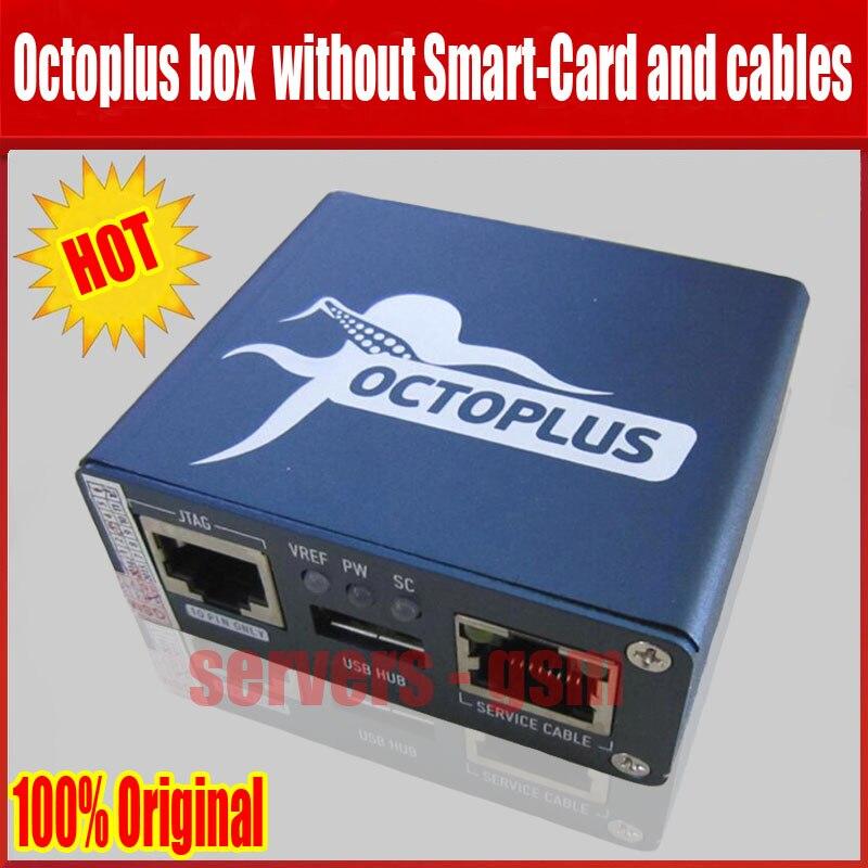 Boîte de Poulpe d'origine/Octoplus box sans Carte À Puce, sans câbles (Octopus/Octoplus box pour avec Smart carte et câble travail