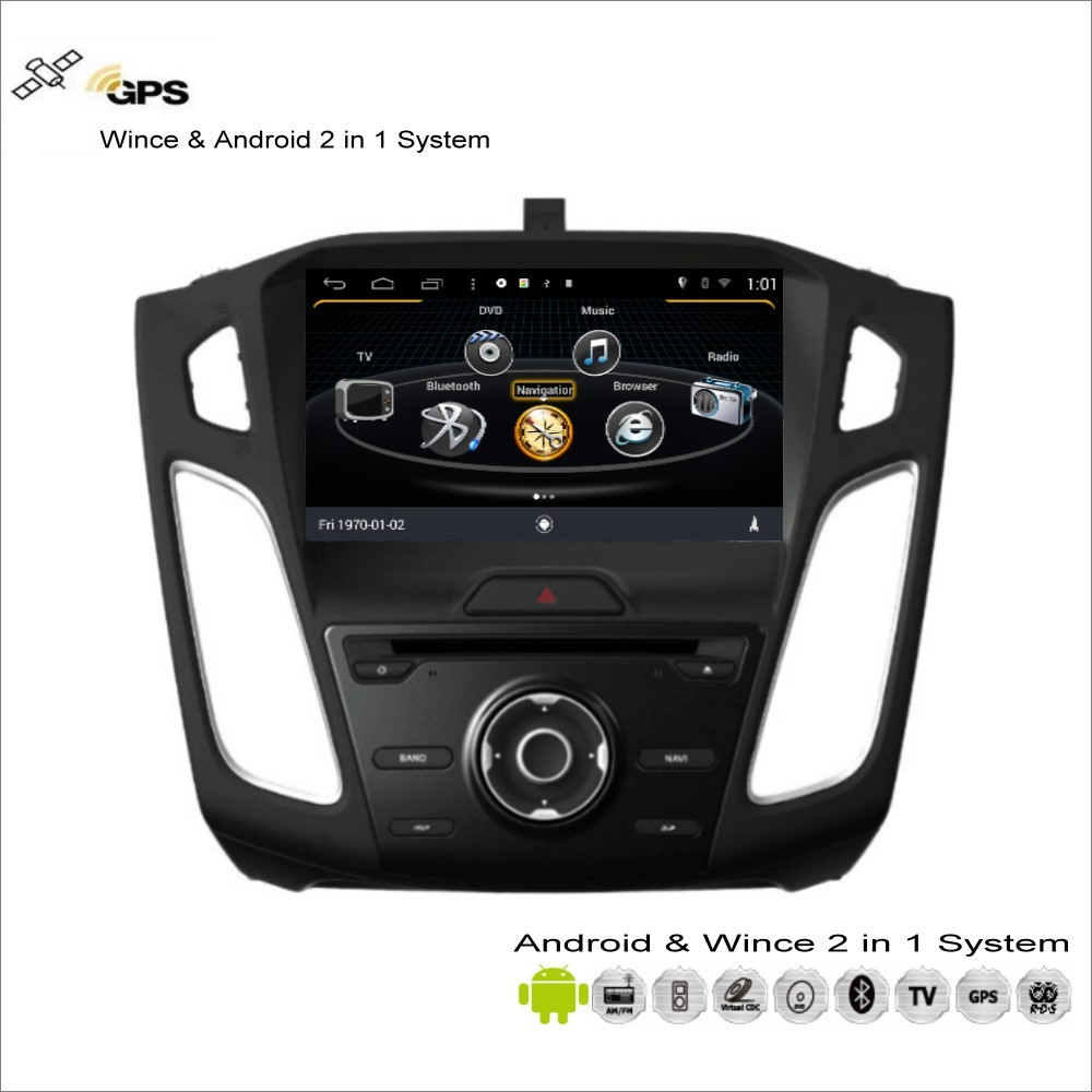 Aliexpress com buy car android multimedia for ford for focus 2015 2017 radio cd dvd player gps navi map navigation audio video stereo s160 system from