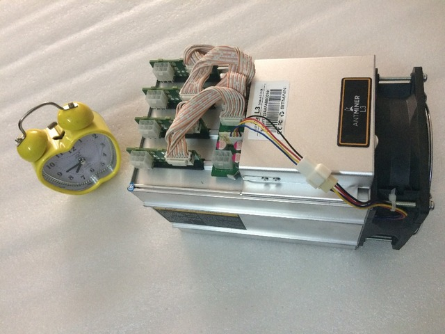 ANTMINER L3 LTC miner 250M newest scrypt miner Litecoin mining machine 250M 400W on wall better than A4 dominator antminer S9