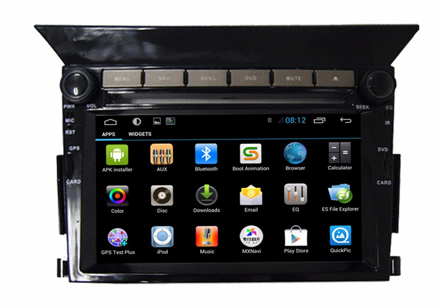 Honda Pilot in car dvd player android