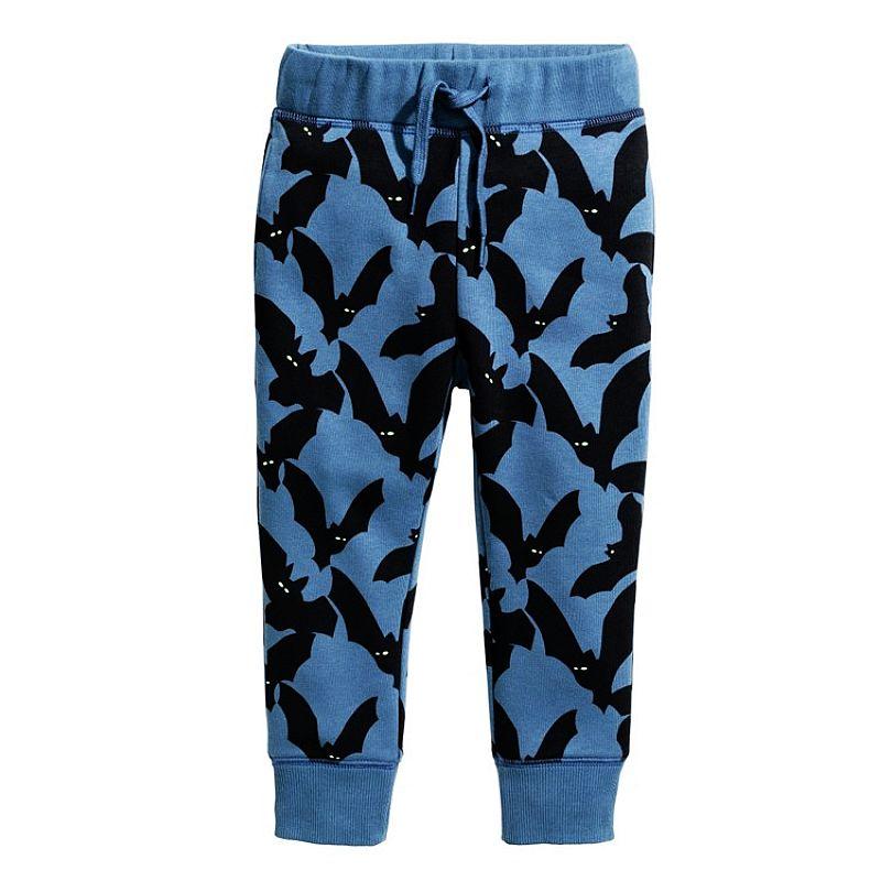 Boys Cotton Pants Children Trousers 2017 Brand Autumn Winter Baby Clothes Boy Sweaterpants Character Print Kids Leggings for Boy