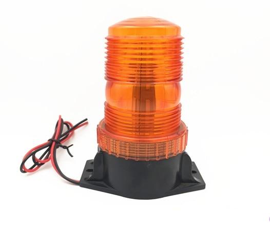 12V-30VDC LED Car Bus Truck Lorry gate opener motor Warning Flashing lamp light Beacon Rotate Strobe Emergency(no sound)