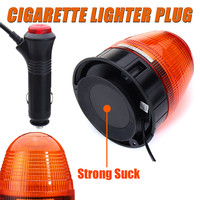 60 LED Emergency Flash Stobe Lamp Car Beacon Warning Light Roadway Safety Traffic Light Amber