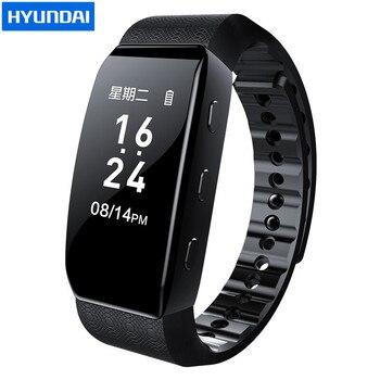 Hyundai K702 voice activate covert digital voice Recorder watch hidden Music Player pedometer smart wristband Stealth Dictaphone